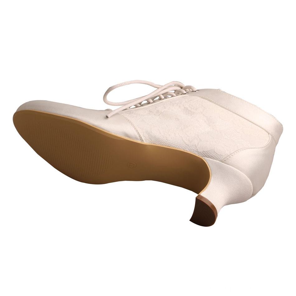 Chunky Heel Wedding Boot