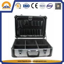 Ferramenta de liga de alumínio caso armazenamento com divisores & ferramenta Pallet (HT-2229)