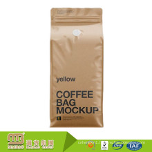 Superior Quality High Barrier Branded 2017 New Design Custom Printed Kraft Paper Coffee Bags With Valve