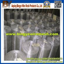 Malha de arame comprimido de alta tensão para peneira de mineração