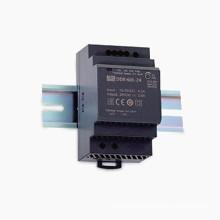 Best quality 3000VAC isolation din rail case dc dc converter 60W DDR-60L-24