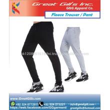 Custom Narrow bottom gym wear / Baseball trouser for men and women