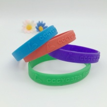 Cutomized Embossed Silicone Bracelets