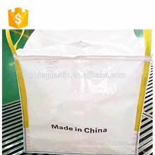 square bottom plastic bag 2 ton bulk bags