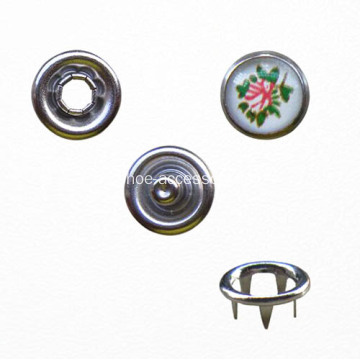 Tipo de clavija de metal Snap on Button for Garment