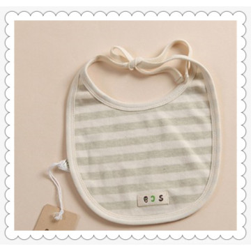 Babero de algodón ecológico para 0-12m