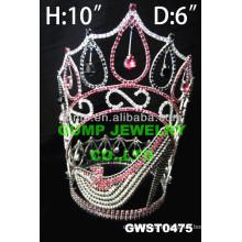 Диадема на высоких каблуках и корона