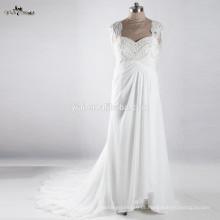 RSW917 Vestido de noiva de mulher grávida de maternidade