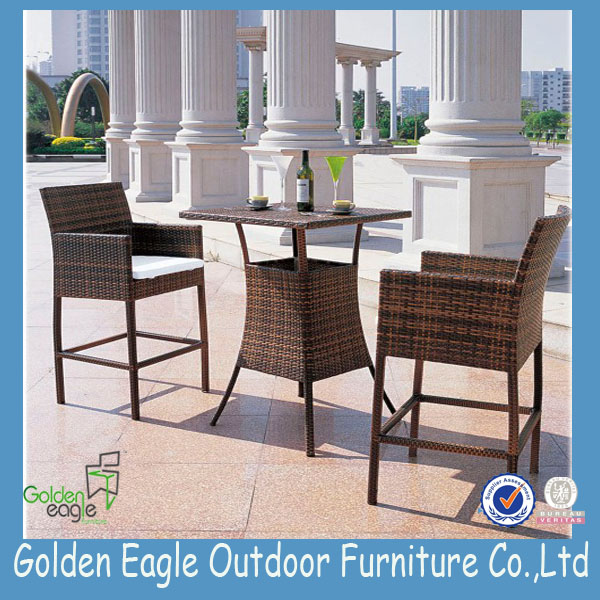 PE rattan outdoor patio furniture
