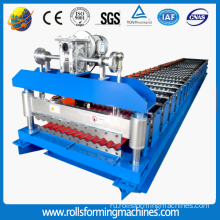 Metal sheet roofing panel roll forming machinery