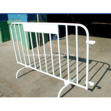 Galvanized/ PVC Coated Crowd Control Barriers/4ftx6FT Crowd Control Barriers/Crowd Control Barrier 2.5m for Traffic Control