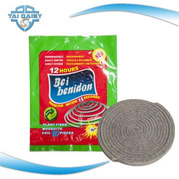 Небьющиеся растительные волокна Комаров катушки изготовлен /140мм горячей продажи в Африке растительные волокна Комаров катушки