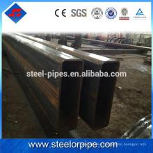 Nuevos productos al por menor caliente tubo cuadrado de acero galvanizado
