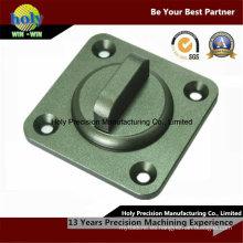 Piezas que trabajan a máquina del CNC de la cubierta / de la tapa de aluminio Servicio agradable que muele del CNC