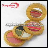 cosmetic bamboo powder compact