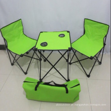 Mesa e cadeiras de dobradura para piquenique ao ar livre (XY-123)