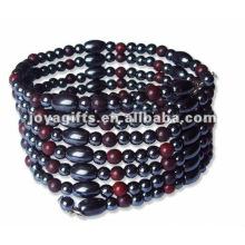 "Magnetische Rutil Perlenverpackung Armbänder & Halskette 36 """