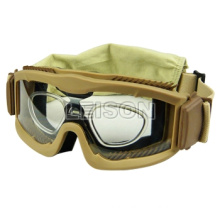 anti-UV, anti-fog tactical gear military ski goggle