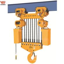 grue à chaîne électrique