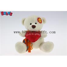 """5.1 """"Beige Liebe Sie Cuddly Toy Teddybär als Festival Geschenk Bos1111"""
