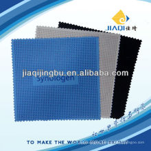 eyeglasses cleaning cloth with silicone dots