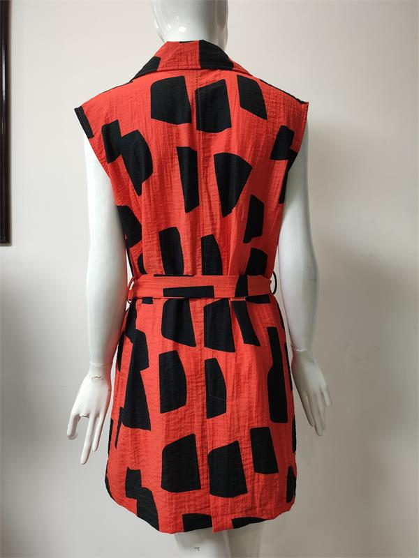 Printed Dress for Summer Wear