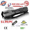 A maioria poderoso recarregável CREE Zoom lanterna LED Tocha