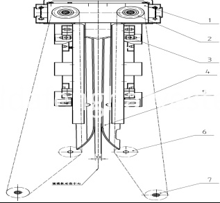 picking corncob gap adjustment schematic diagram