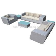 ensemble moderne de 5 pièce de meubles de rotin extérieur 2015