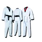 WTF taekwondo  competition dress white uniform