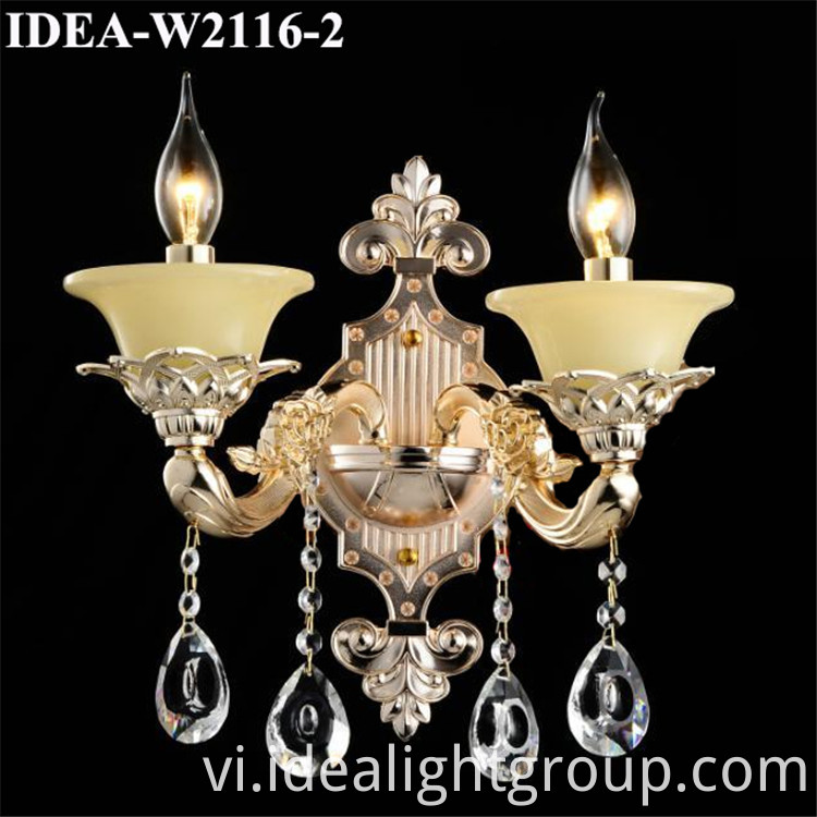 wall lamp crystal lighting