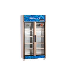 600L Vertical para cima Unidade Multi-Porta Display Refrigerador