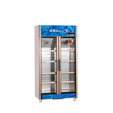 600L Вертикальный вверх блок Многозонный дисплей Холодильник