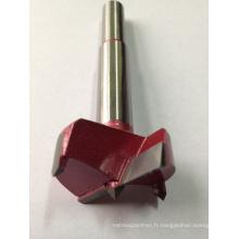 Charnière Perçage avec carbure pour bois industriel Couleur rouge Hi-Quality
