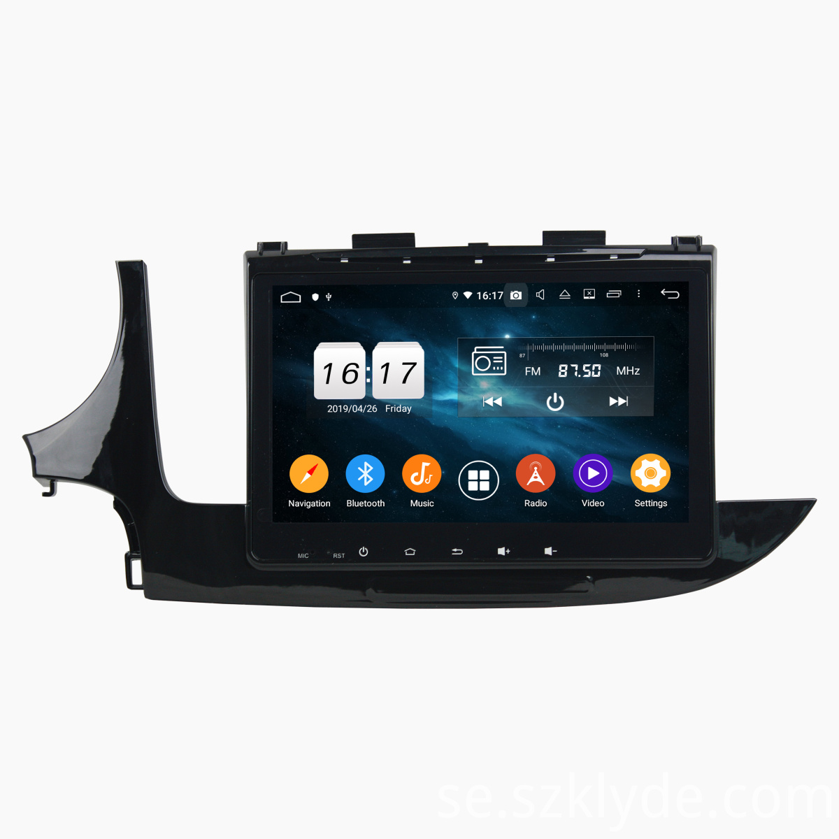 car navigation for MOKKA 2017