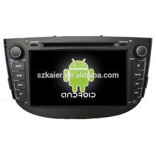 Android System lecteur dvd de voiture pour Lifan X60 avec GPS, Bluetooth, 3G, ipod, jeux, double zone, contrôle du volant