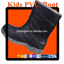 JX-916B цветной ПВХ детей дождь сапоги & резиновые сапоги дождь для детей
