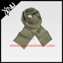 2013 AW 100% écharpe en soie tissée
