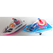 Light up Police Boat Toy Candy (121001)