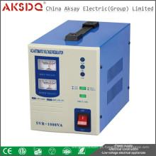 Novo tipo de AVR quente Controle de servo-motor automático completo Tipos de relé DER Estabilizador de tensão doméstico fabricado na China