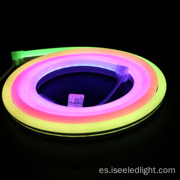 Color cambiante 5050 RGB LED Neon Tube Strip