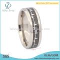Высококачественный дизайнерский титан с обручальным кольцом из углеродного волокна