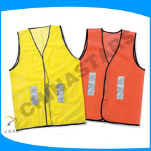 china safety cheap volunteer vests on size fit all