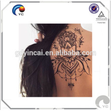 Recém Henna tatuagem temporária etiqueta henna estilo boêmio corpo humano arte tatuagem em boa qualidade