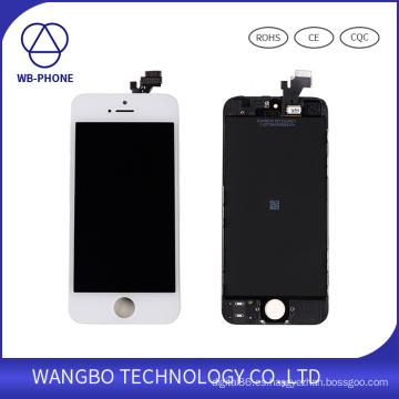 Pantalla LCD para el digitizador de cristal de la pantalla táctil iPhone5g