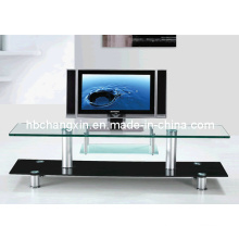 Hot Selling New Modern Design Glass TV Stand