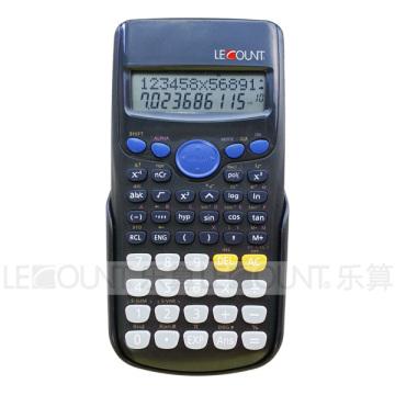12/10 chiffres 240 Fonction Calculatrice scientifique avec cache arrière coulissant (LC758A)