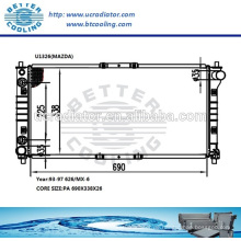 Kunststoffheizkörper für MAZDA 626 / MX-6 93-97 OEM: KL20-15200E / F / G / 920W8005CF / DF