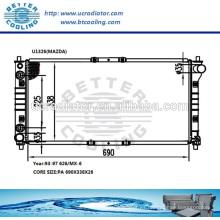 Radiadores de plástico para MAZDA 626 / MX-6 93-97 OEM: KL20-15200E / F / G / 920W8005CF / DF