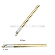 professional brow permanent makeup eyebrow blades pen,manual microblading blades pen